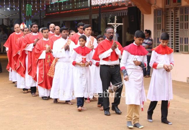 St Lawrence Shrine, Attur - Karkala - Karkala: Annual feast of St