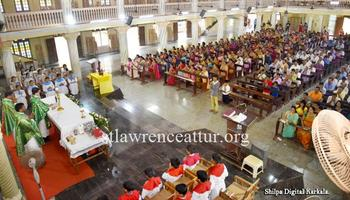 Novena officially inaugurated at St Lawrence Basilica, Attur Karkala