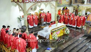St Lawrence Minor Basilica celebrates patron's feast