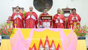 Karkala: St Lawrence Minor Basilica Attur - Second anniversary of proclamation and dedication held